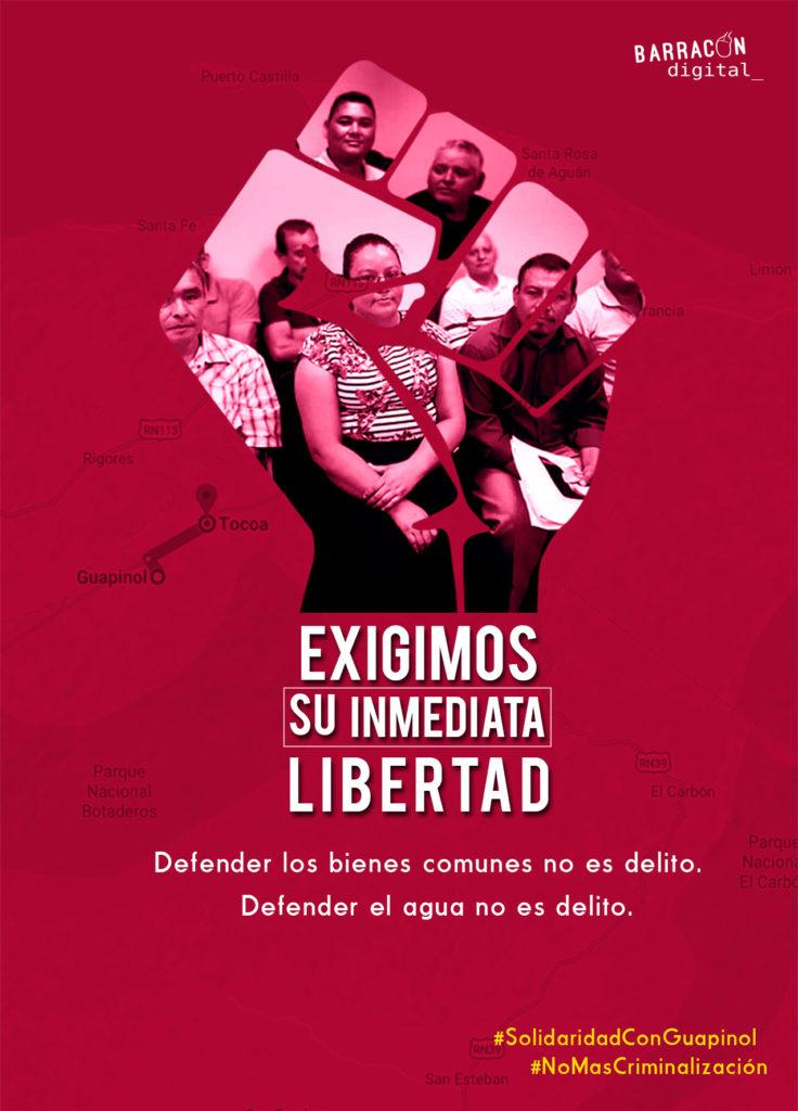 Exigimos libertad!