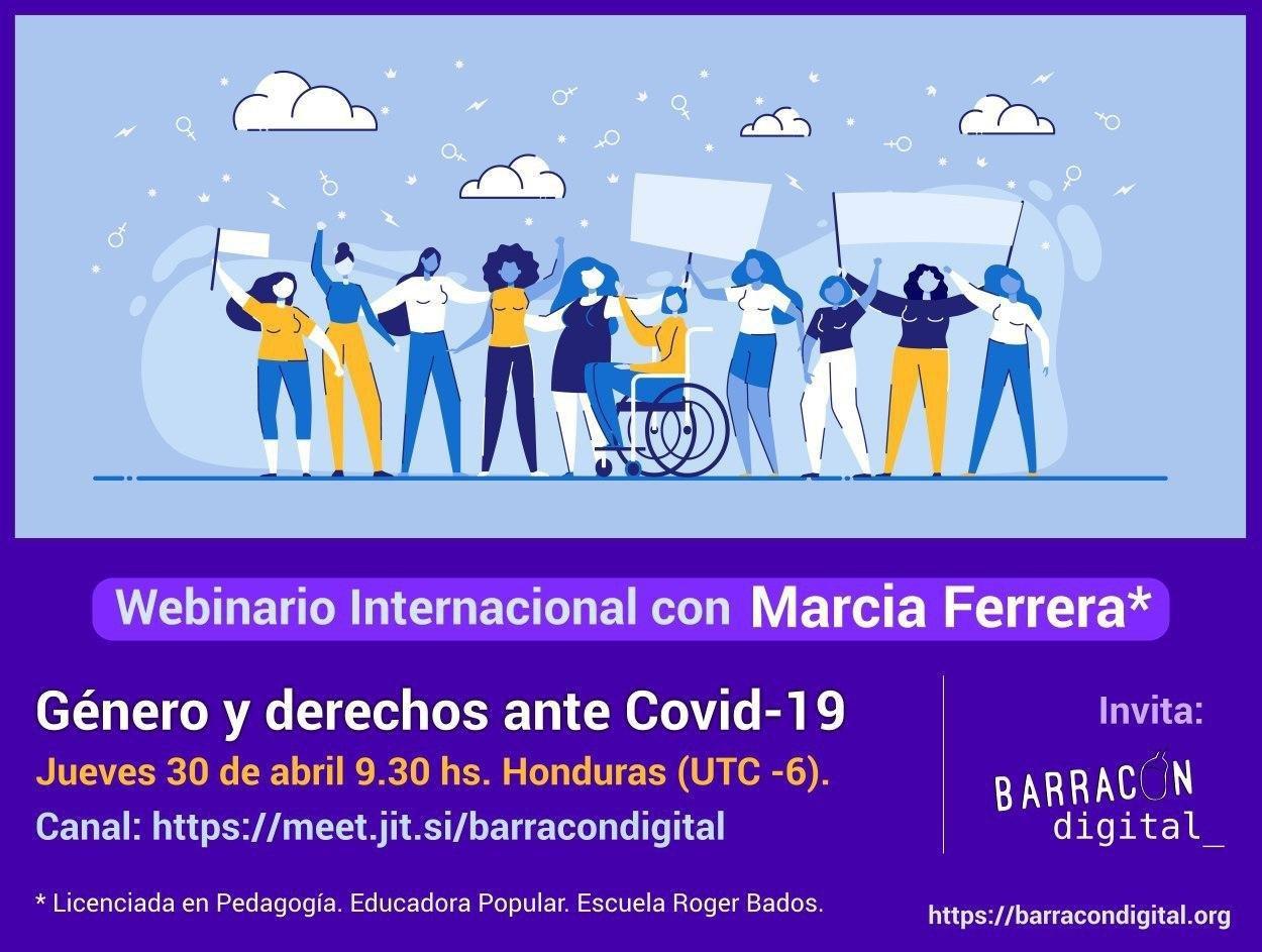 Webinar: Género y derechos ante COVID-19