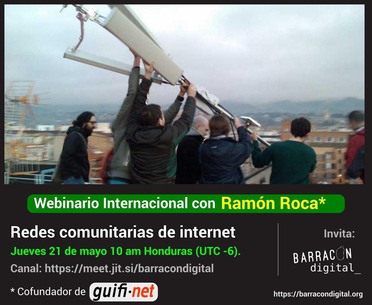 Redes comunitarias de internet