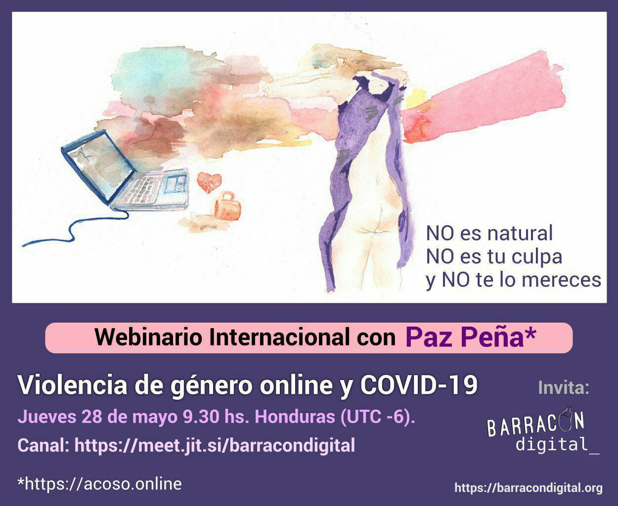 Violencia de Género en línea en el marco de covid-1