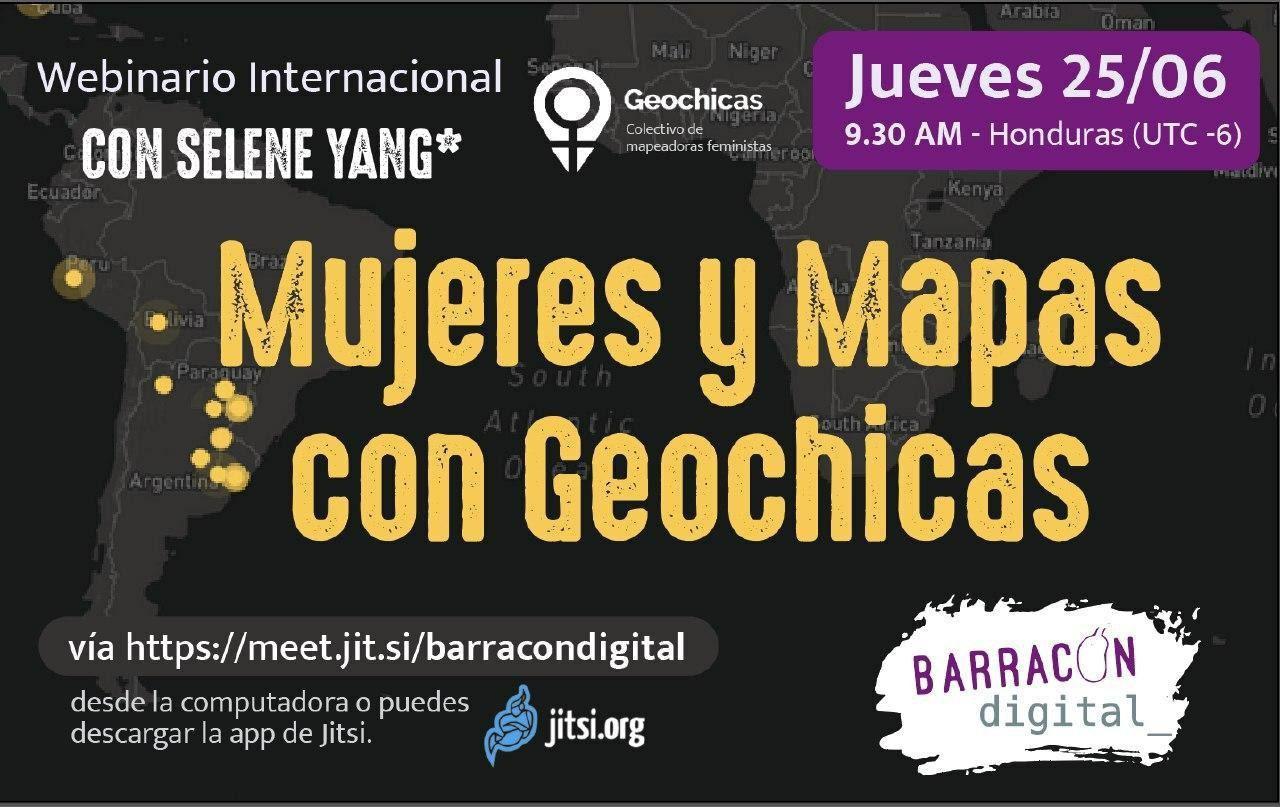 Mujeres y Mapas con Geochicas